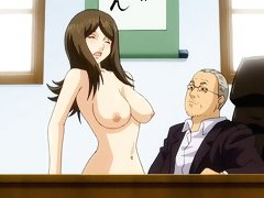 Extreme hentai sex in the office